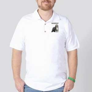 Bearded Collie Golf Shirt