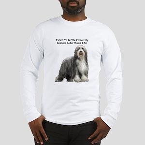 Bearded Collie Long Sleeve T-Shirt