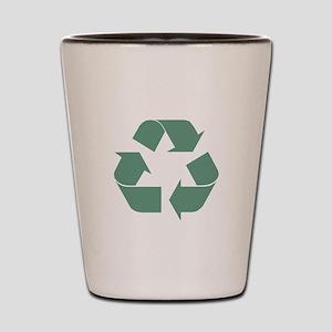 Recycle Symbol Shot Glass