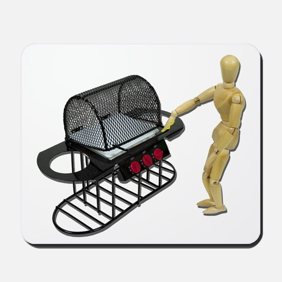 Cleaning New Barbeque Mousepad