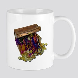 Colorful Pirate Treasure Gold Mug