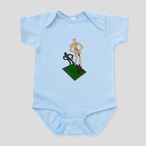 Digging Shovel in Grass Infant Bodysuit