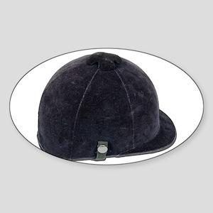 Equestrian Helmet Sticker (Oval)
