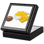 Football Letterman Jacket Keepsake Box