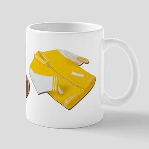 Football Letterman Jacket Mug