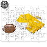 Football Letterman Jacket Puzzle