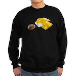 Football Letterman Jacket Sweatshirt (dark)
