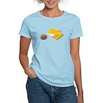 Football Letterman Jacket Women's Light T-Shirt