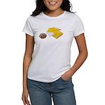 Football Letterman Jacket Women's T-Shirt