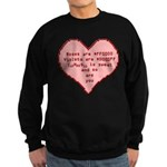 Geek Valentine Sweatshirt (dark)