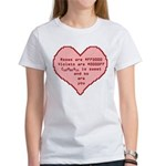 Geek Valentine Women's T-Shirt