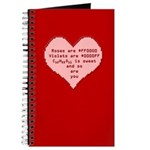 Geek Valentine Journal