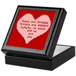 Geek Valentine Keepsake Box
