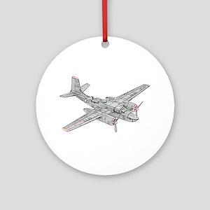 Douglas B-26 Invader Ornament (Round)