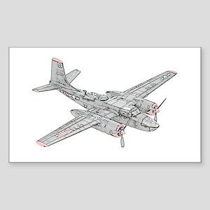 Douglas B-26 Invader Sticker (Rectangle)