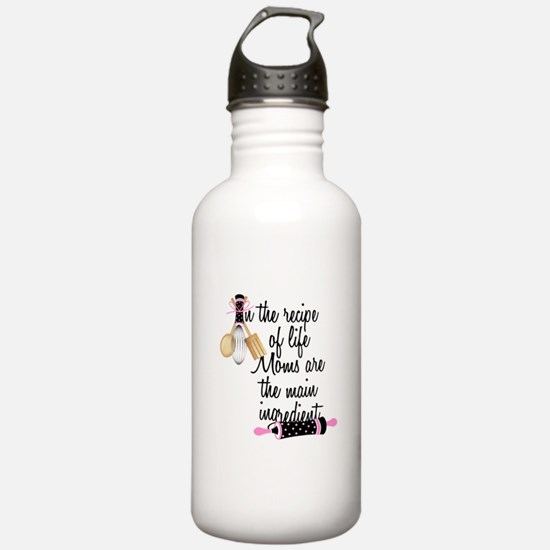 Mom Ingredient Water Bottle