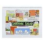 sardonic salad wall calendar