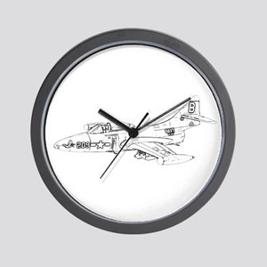 Grumman F9F Cougar Wall Clock