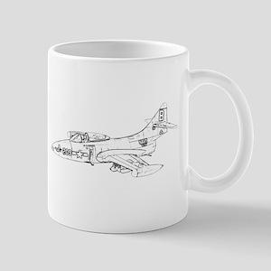 Grumman F9F Cougar Mug