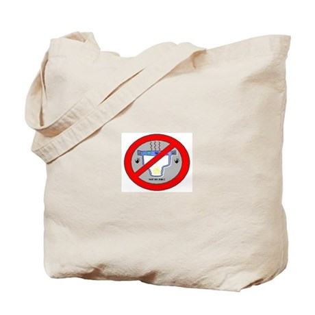 Logo Against Diaper Changing Tote Bag