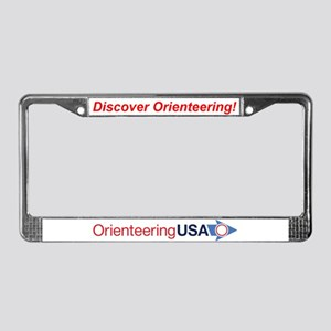 OUSA License Plate Frame