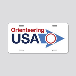 OUSA Aluminum License Plate