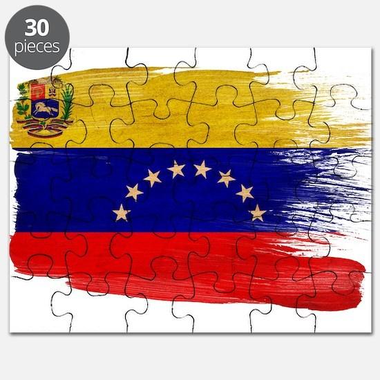 Venezuela Flag Puzzle