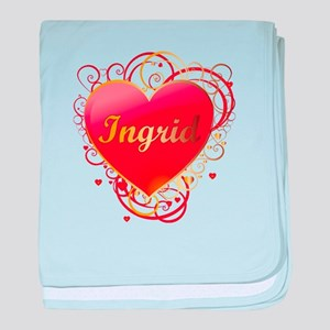 Ingrid Valentines baby blanket