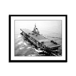 USS CORAL SEA Framed Panel Print
