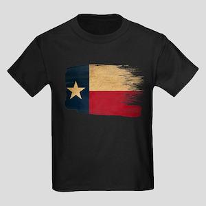 Texas Flag Kids Dark T-Shirt