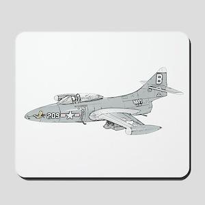 Grumman F9F Cougar Mousepad