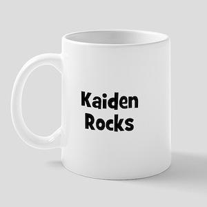 Kaiden Rocks Mug