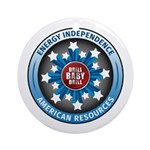 American Energy Independence Ornament (Round)