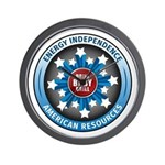 American Energy Independence Wall Clock