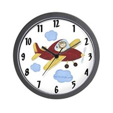Airplane Clock - Lion