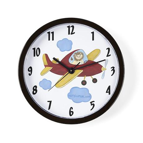 Airplane Clock - Lion