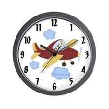 Airplane Clock - Giraffe