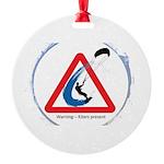 Warning - Kiters present Ornament