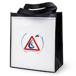 Warning - Kiters present Reusable Grocery Tote Bag