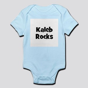 Kaleb Rocks Infant Creeper
