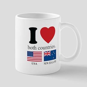 USA-NEW ZEALAND Mug
