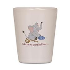 Baseball - Elephant Shot Glass