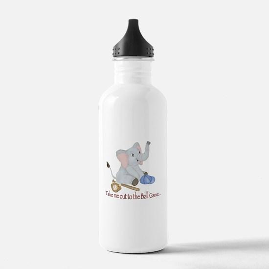 Baseball - Elephant Water Bottle
