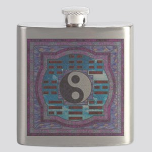 Yin-Yang and I-Ching Flask