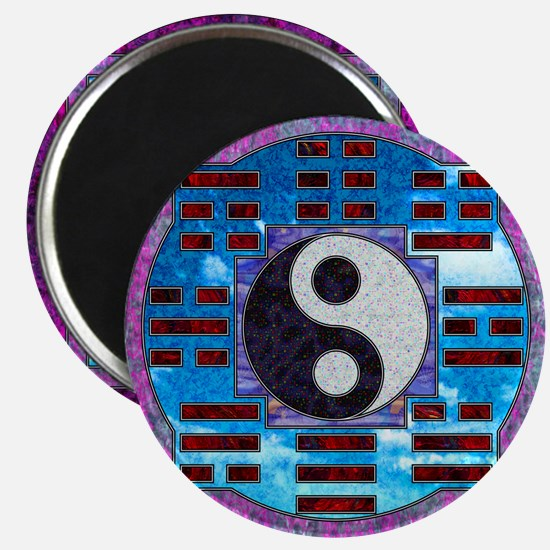 """Yin-Yang and I-Ching 2.25"""" Magnet (10 pack)"""