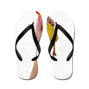 a5dbbd230 Choke Chicken Flip Flops - CafePress