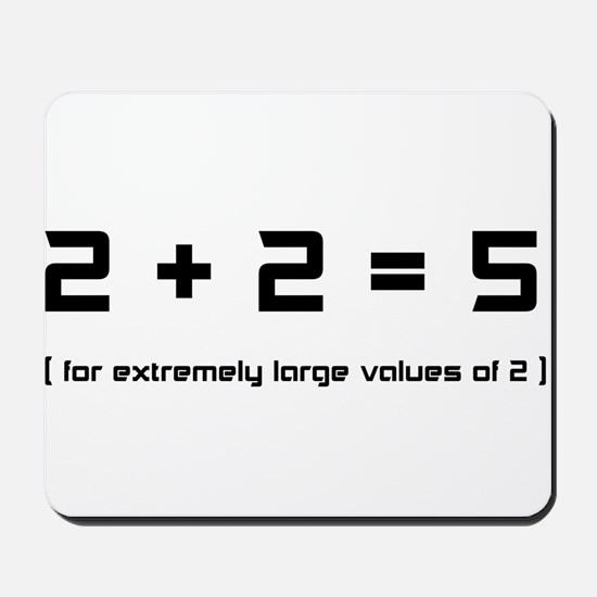 Extremely Large Twos Mousepad