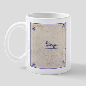 Running Fox Tile: Mug