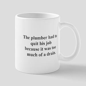 plumber quit Mug