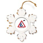 Enthusiasts only Rustic Snowflake Ornament